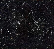 Perseus Double Cluster by Sylvain Girard