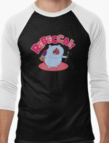Rebecca! Men's Baseball ¾ T-Shirt
