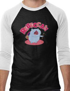 Rebecca! Men's Baseball ¾ T-Shirt