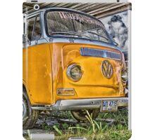HDR Orange Volkswagen mini van iPad Case/Skin