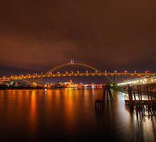 Fremont Bridge - Portland Oregon by davidgnsx1