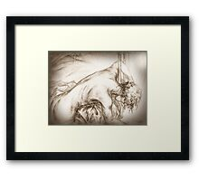 Time Was Never Enough. For You... Framed Print