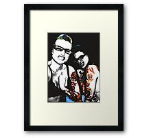 Mean Bitches Framed Print