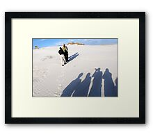 Shadow Photographers Framed Print
