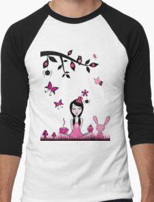 Pinky In Pinky Land T Men's Baseball ¾ T-Shirt