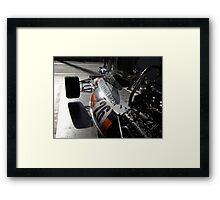 McLaren M19A Framed Print