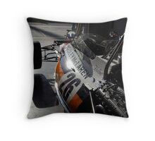 McLaren M19A Throw Pillow