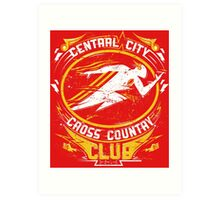 Cross Country Club Art Print