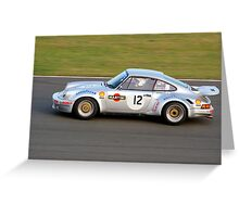 1974 Porsche 911 RSR Greeting Card