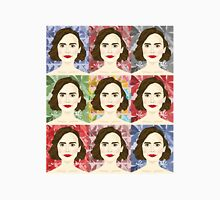 Lily Collins x9 Womens Fitted T-Shirt