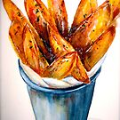 Delicious..Chunky Sweet Potato Fries by  Janis Zroback