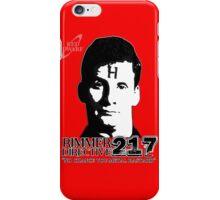 Rimmer Directive 217 iPhone Case/Skin