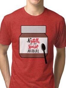 Nutella is My Spirit Animal Tri-blend T-Shirt