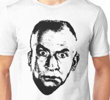 Louis de Funes - Black Stencil Unisex T-Shirt