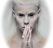Satanic Yolandi Visser  by jonmegyesi