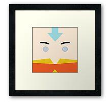 Aang, Avatar the last airbender Framed Print