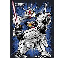 Zephyranthes Gundam Tees Photographic Print