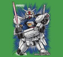 Zephyranthes Gundam Tees One Piece - Short Sleeve