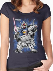 Zephyranthes Gundam Tees Women's Fitted Scoop T-Shirt