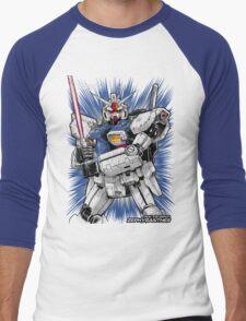 Zephyranthes Gundam Tees Men's Baseball ¾ T-Shirt
