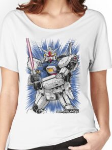 Zephyranthes Gundam Tees Women's Relaxed Fit T-Shirt