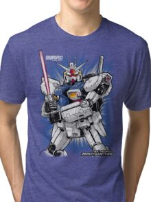 Zephyranthes Gundam Tees Tri-blend T-Shirt
