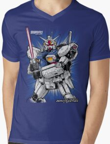 Zephyranthes Gundam Tees Mens V-Neck T-Shirt