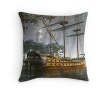 Moon Cove Throw Pillow