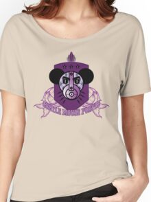 ARGYLE MOUSE PURPLE ALE Women's Relaxed Fit T-Shirt