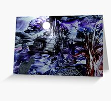 When the full moon rises...... Greeting Card