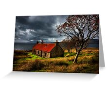 Ruin at Suisinish, Isle of Skye. North West Scotland. Greeting Card
