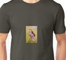 Six Spot Burnet Moth on Field Scabious Unisex T-Shirt