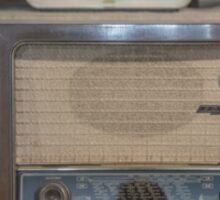 Old Radios Sticker