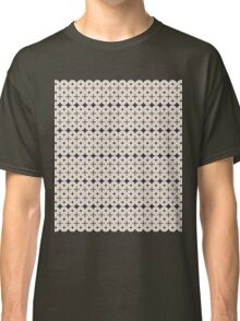 Navy Circles (All Over) Classic T-Shirt