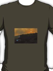 Full Moon at Sunset T-Shirt