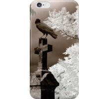 Infrared Crow iPhone Case/Skin