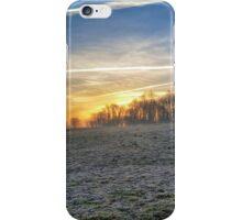 Foggy Morning Sunrise iPhone Case/Skin