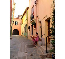 Ordinary Day in Collioure Photographic Print