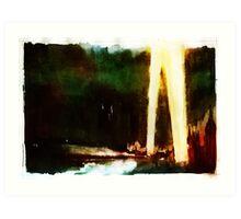 Blitzkrieg/Spotlights Art Print