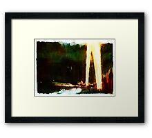 Blitzkrieg/Spotlights Framed Print