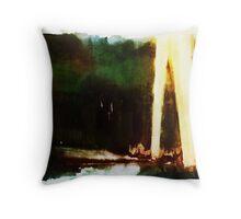 Blitzkrieg/Spotlights Throw Pillow