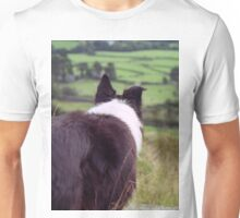 Indy taking in the view. Unisex T-Shirt