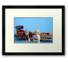 Old Ben and Luke Framed Print