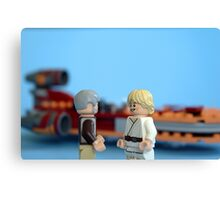 Old Ben and Luke Canvas Print