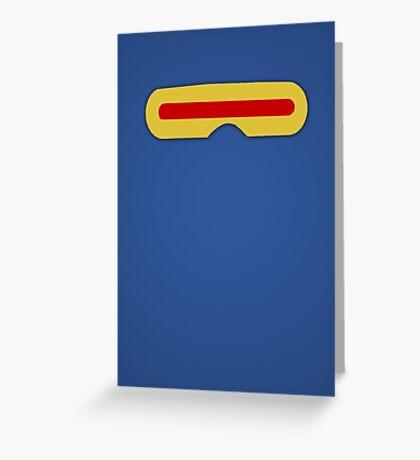 Minimalist - Cyclops Greeting Card