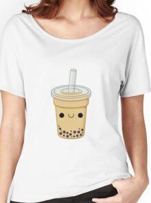 Cute Bubble Tea Women's Relaxed Fit T-Shirt