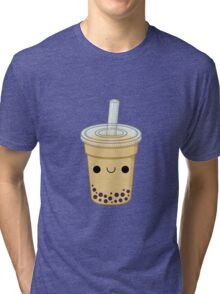 Cute Bubble Tea Tri-blend T-Shirt