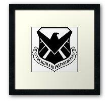S.H.I.E.L.D. Air Wing - LoVis Black Framed Print