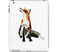 The Fox Woodland Wild Animal Acrylics Painting iPad Case/Skin