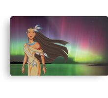 Native Princess Metal Print